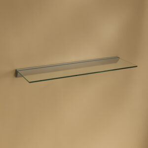 Glacé Tempered Glass Wall Shelving