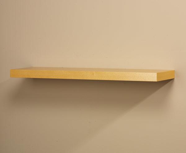 Grandé Straight Wood Shelf