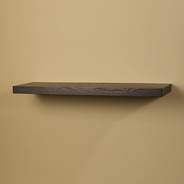 24 Inch Grandé Straight Wood Shelf