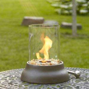 Firenze Mini Tabletop Glass Fireplace
