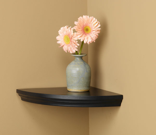 Villlages Wood Corner Shelf
