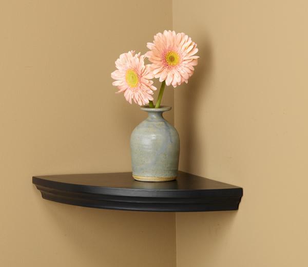 Villlages Wood Corner Shelf