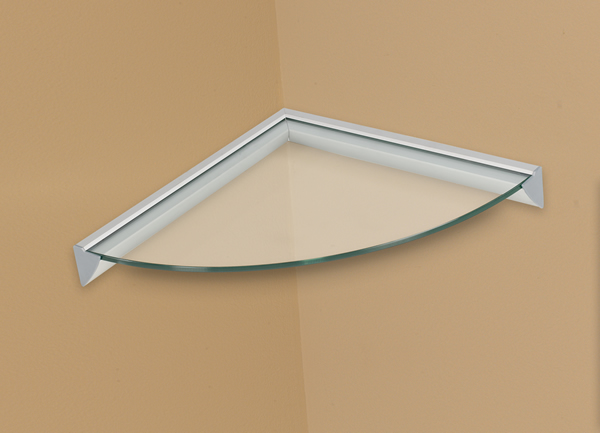 Concepts Glass Corner Shelving Kit in Clear or Opaque