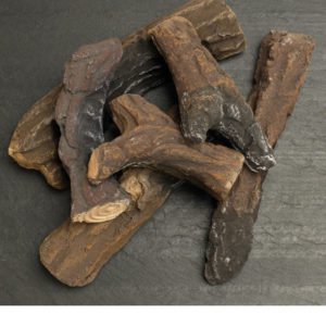 Firenze Gel Fuel Fireplace Logs - Pack of Six