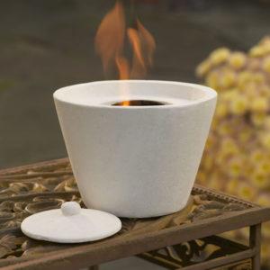 Ivory Firepot