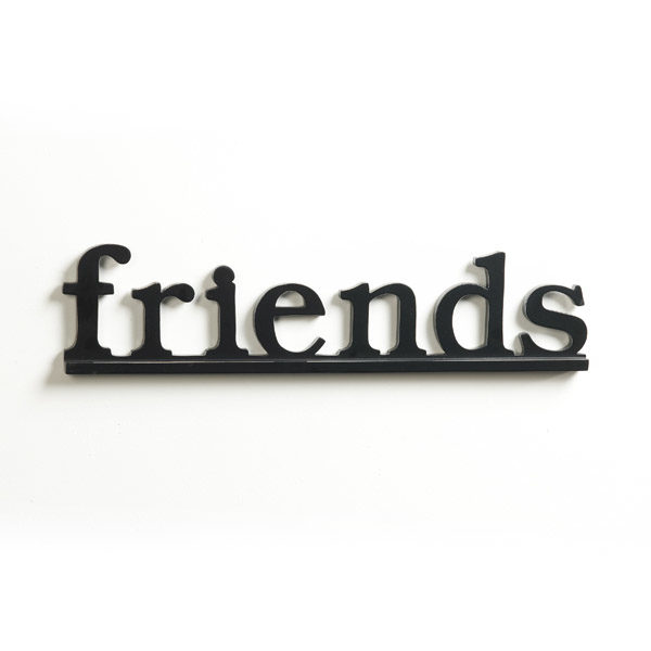 Friends Decorative Sign - Wall Mounted