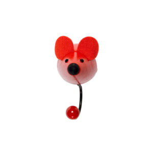 Children's Red Mouse Coat Hook