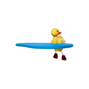 Kinder Touch Single Blue and Yellow Duck Shelf Kit